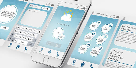 Aspirant Creates Global Domestic Violence Prevention App, Bright Sky, for Global Launch in 11 Countries