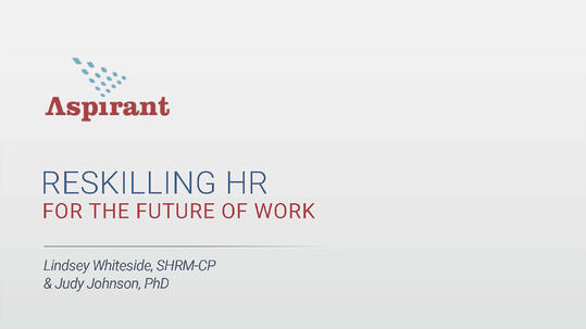 Aspirant - Reskilling HR for the Future of Work Toolkit 2