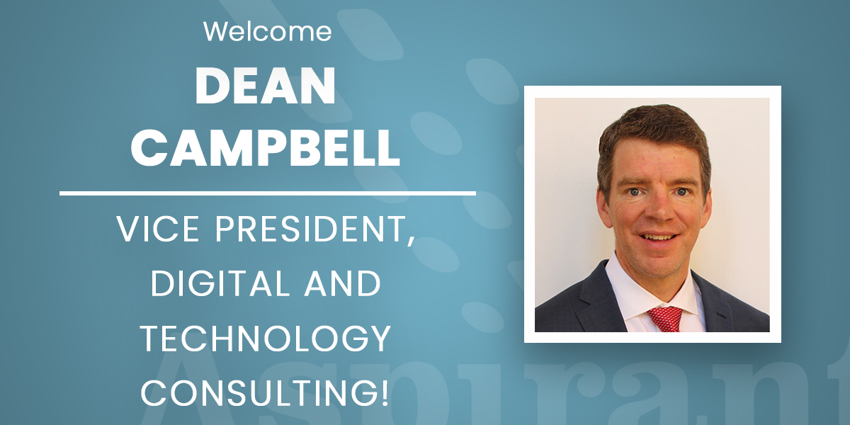 Aspirant Hires Dean Campbell as VP of Digital and Technology to Expand Digital Transformation Services