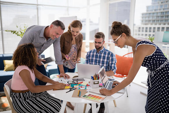 Brand planning engages global teams