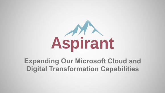 Aspirant Acquires TASE Labs, Microsoft Cloud Specialists